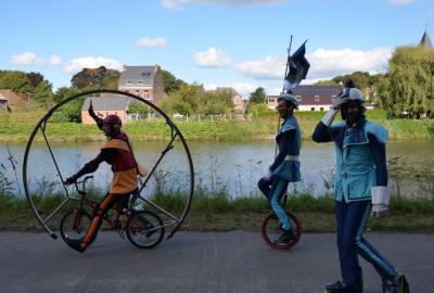 Fête de la Wapi à vélo