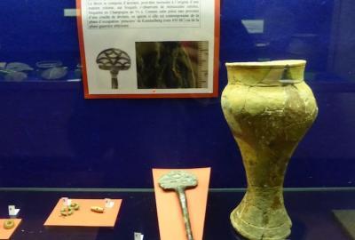 Expo sur le Kemmelberg au Musée d'Archéologie